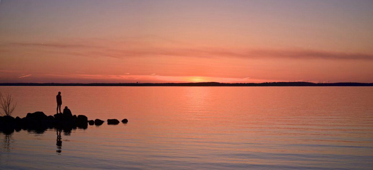 Mendota sunset photo