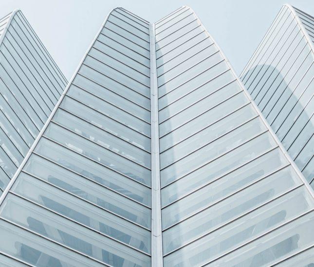 Modern building for web